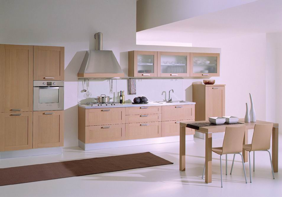 Shaker Style White Oak Wood Veneer Kitchen Cabinet Vapsint China Furniture Factory Whole Project